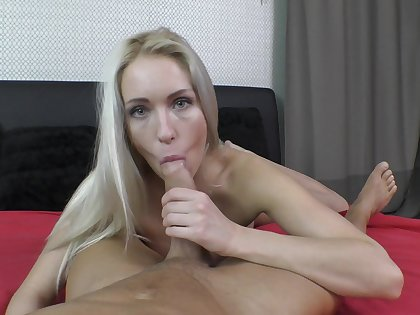 POV perfection in both oral and vaginal scenes for the hot amateur
