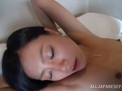Hot Yui Satonaka gets their way pussy protected in many ways by a dude