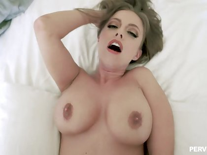 Lucky boy fucks the sexiest stepmom Britney Amber