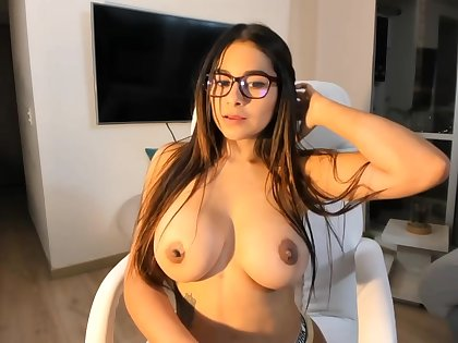 Big-Boobed black-haired says go wool-gathering she is a junior sista of Mia Khalifa, just a bit hornier