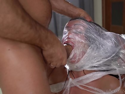Bitches love creature asphyxiated while creature fucked and jizzed