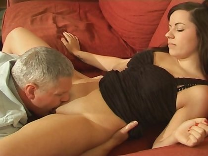 Pussy licking makes Kaitlyn Andrews wet and obtainable for a cock